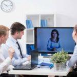 Konferenz und Vorstellung via skype