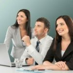 Office, Business, People, Konzentration