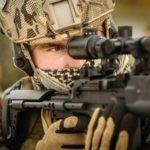 Soldat Schießübung