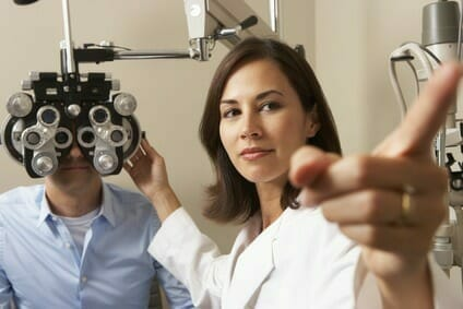 Vorstellungsgespräch Optiker