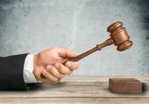 Jurist Urteilsfällung