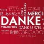 dank; danke; danke schön; danke sehr; bedanken; vielen dank