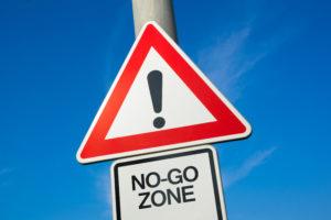 No go Bewerbungsgespräch