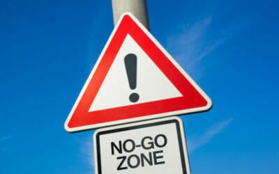 No go Bewerbungsgespräch: Die Top 7
