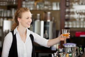 Hotelfachfrau im Service