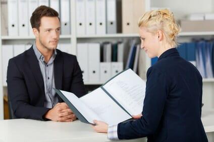 Bewerbungsgespräch mit Belegen aufpeppen
