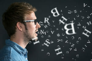 ruhig sprechen - ohne Wortsalat
