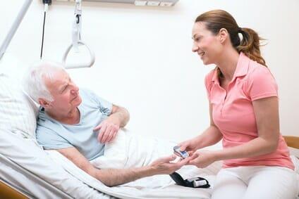 Vorstellungsgespräch für angehende Krankenschwestern