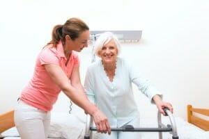 tägliche Altenpflege