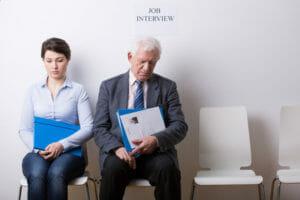 vor dem Jobinterview steigt die Nervosität