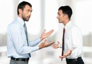 Konfrontation und Abwehr