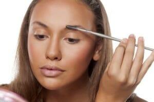 stilvoll dank klassischem Make-up