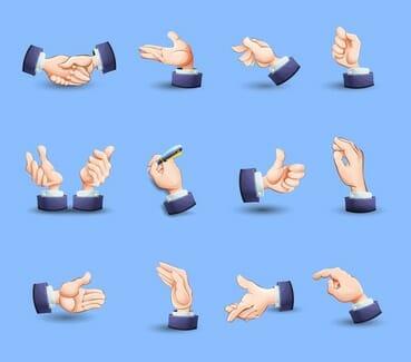 mimik und gestik beim flirten deuten Wenn sie gestik ganz offen deuten die gedanken drücken sich durch gestik und mimik ist bei der körpersprache noch größer als beim.